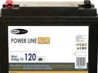 Bateria AGM 120 Amp Inovtech Power Line