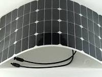 Kit solar flexible 100w. Monocristalina